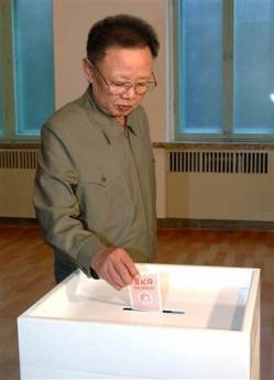 .[영문] North Korea Votes for New Rubber-Stamp Parliament.