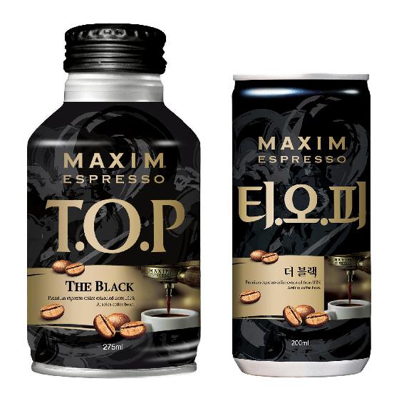 동서식품, '맥심 T.O.P 더 블랙' 출시