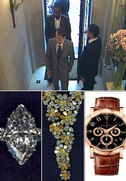 .London Police Make Arrest in Jewelry Heist.