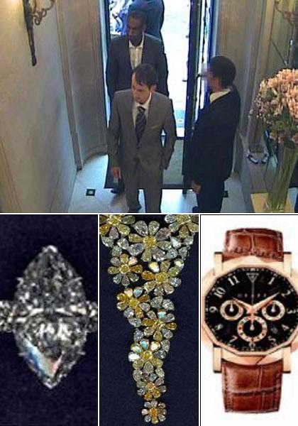 London Police Make Arrest in Jewelry Heist