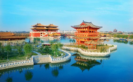 .走近中原,饱览中国五千年灿烂文明.