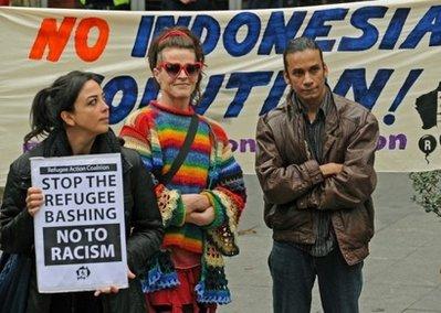 .Australia Shrugs off Timor Refugee Snub.