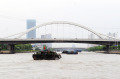 .京杭运河无锡段扩容 千吨级船舶畅行无阻.