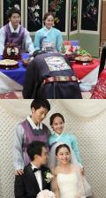 .柳真公開妹妹婚禮照片.