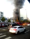 종로3가 서울극장 근처 식당서 화재