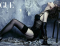 .Brown Eyed Girls member Ga-in posed in lingerie and handcuffs.
