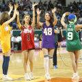 [포토] 농구 결승전에 시구한 리브하이