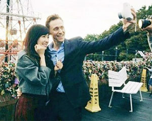 Girls Generation Tiffany spotted with actor Tom Hiddleston