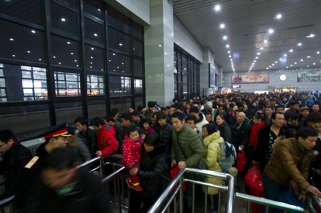 <영상중국> 2주 앞으로 다가온 중국 춘절, 드디어 시작된 귀성 전쟁