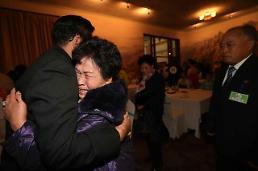 .韩朝离散家属团聚在金刚山酒店举行.