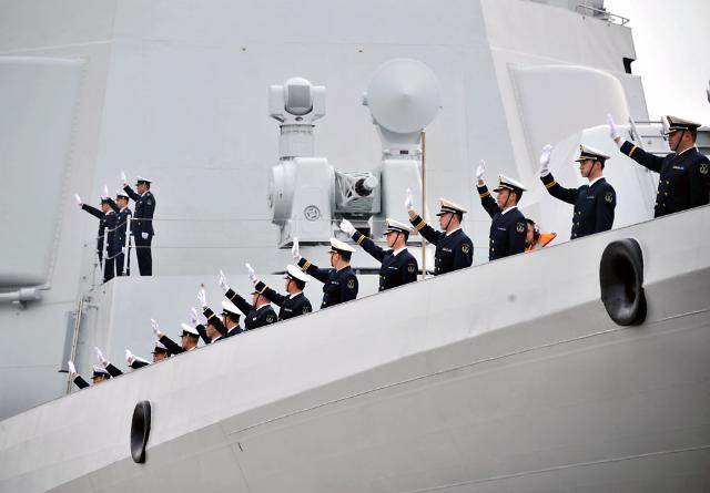 중국 관함식 미국 보이콧 결정... 일본 제외에 불쾌감 표시