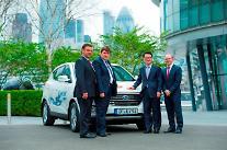 現代車、ツーソンix水素燃料電池車をヨーロッに本格輸出