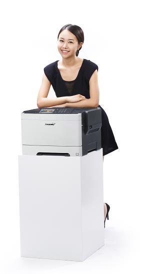 신도리코, 컬러 레이저 프린터 'P411dn' 출시…분당 30매 출력