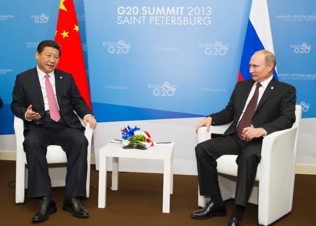 시진핑-푸틴, 중러군사훈련 개막식 동시 참석