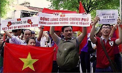 [남중국해 분쟁] 중국, 베트남과 교류 중단 발표