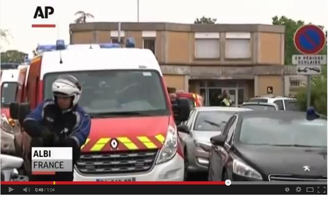 프랑스 유치원서 학부모가 원생들 앞에서 여교사 흉기로 찔러 살해