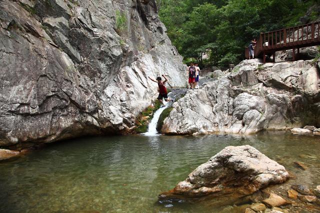 ◆漫步京畿道溪谷 感受夏日的一丝清凉