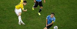 .Rodriguez's volley named Goal of Brazil World Cup.