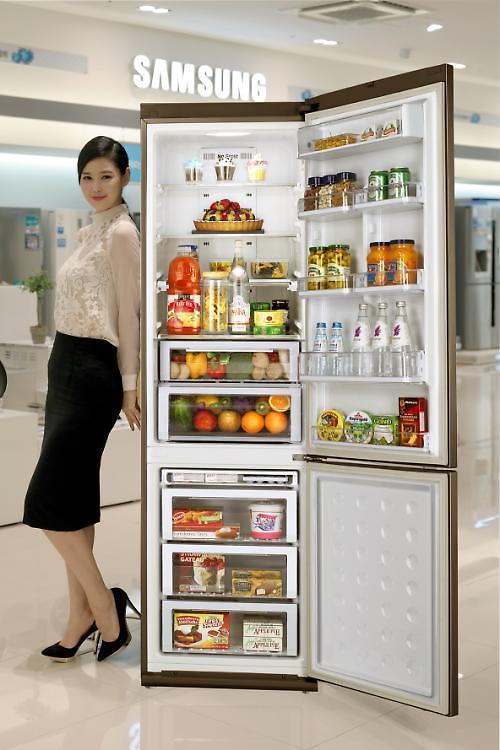 サムスン電子、1人世帯に合わせた「スリム・スタイル」冷蔵庫 ...