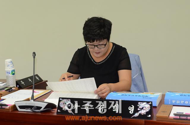 아산시의회 김희영 의원, 공무원보다  한발 앞선 행정