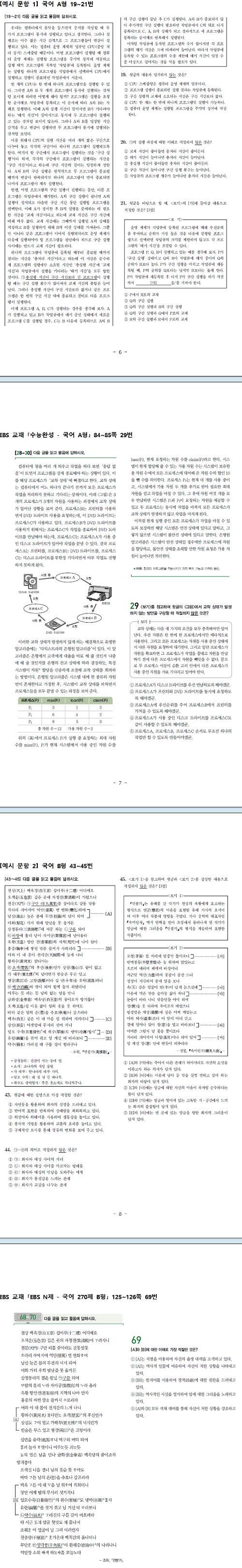 """""""모의평가 국어 추론·비판·창의 사고 활용 문항 중점 출제"""""""