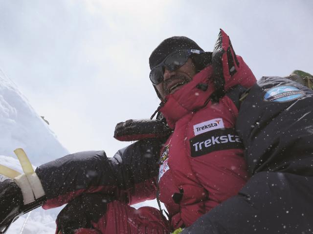트렉스타 홍보대사 산악인 김홍빈, 마나슬루(8,163m) 등정 성공...무사 귀국