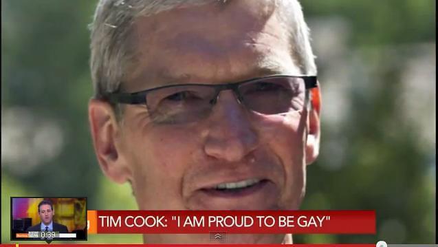 """애플 CEO 팀 쿡""""게이인 것이 자랑스러워,신의 선물,애플CEO로 일할 때 도움"""""""
