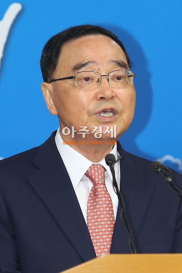"""정홍원 총리 """"가계부채 관리가능 범위에 있다"""""""