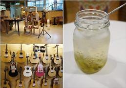 .音乐伴咖啡:弘大寻找音乐特色咖啡厅.