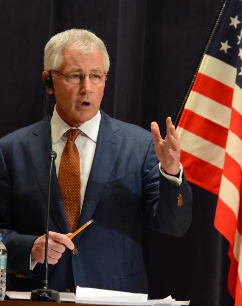 헤이글 국방장관,  미국의 군사적 우위 확보위한 구상 발표