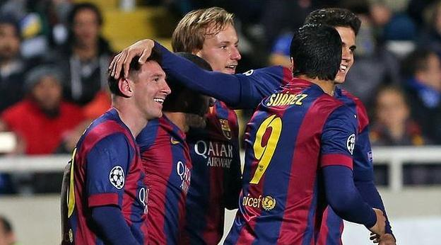 Messi sets new goalscoring record in UEFA Champions League