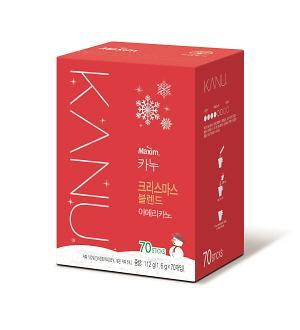 동서식품, '카누 크리스마스 블렌드' 한정판 출시