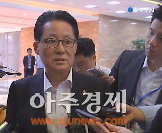 박지원 일행 16일 방북…개성으로 김정일 3주기 조화 전달