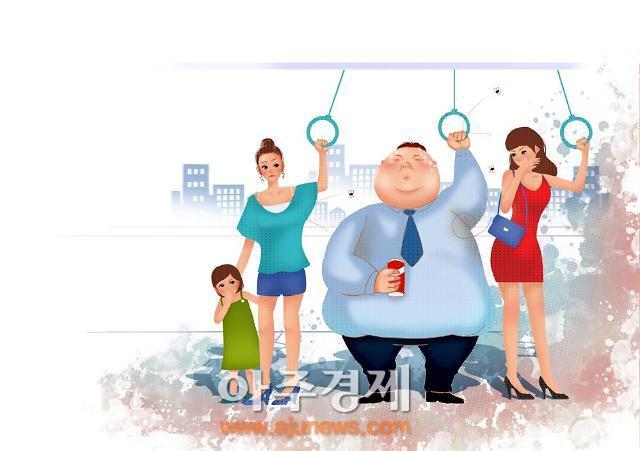 뚱뚱한 40대이상 남성, 각종 질병에 괴롭다
