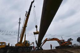.中国天然气管道穿越长江 再创世界纪录.