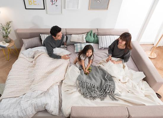 현대리바트, 리바트이즈마인 탐 패밀리 침대 출시