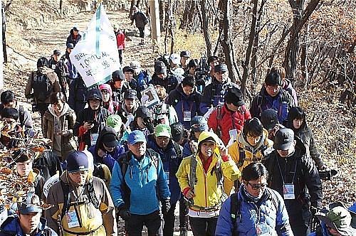 登山成为韩国人最喜欢的兴趣爱好