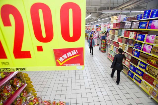 중국 춘제 소비 없었나, 2월 물가상승률도 1% 밑돌 듯