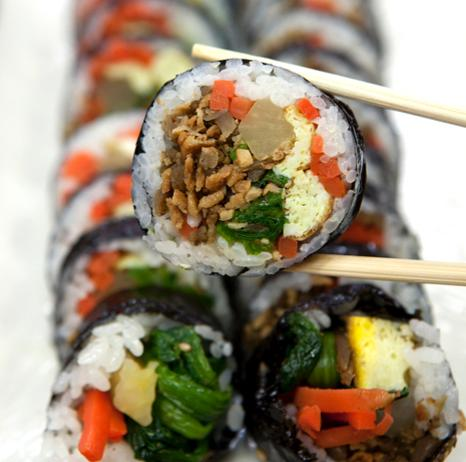 Gimbap Japanese peoples most favorite Korean food, survey says