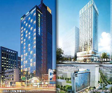 中国游客推动首尔商务酒店井喷式增长