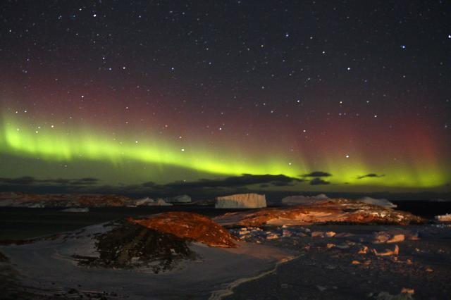 [영상중국] 남극하면 역시 오로라 중국 중산기지 카메라에 포착