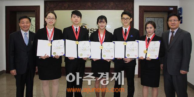 부산과기대 호텔관광경영과 제6회 한국식음료대회 대거 수상