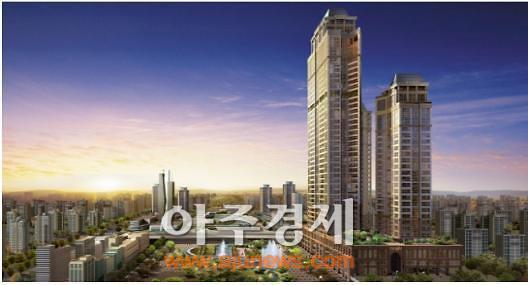 동양건설, 동탄신도시 중심 동양파라곤 아파트 분양