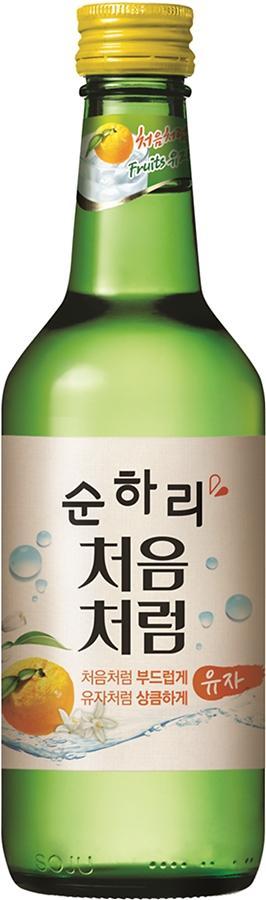 """유자맛 순하리 열풍 """"구매는 어디서?""""…소주인듯 소주아닌 칵테일 같은 술"""