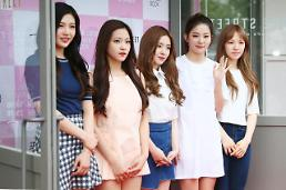 .Girl group Red Velvet attends event for makeup book .