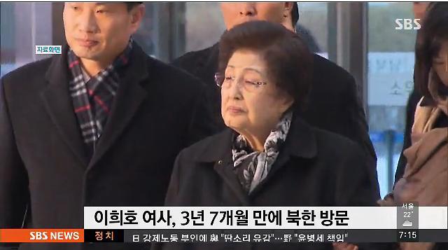 북한, 이희호 여사 방북 때 항공기 제공 제안