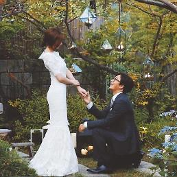 .Hallyu star Bae Yong-joon ties knot with actress Park Soo-jin .
