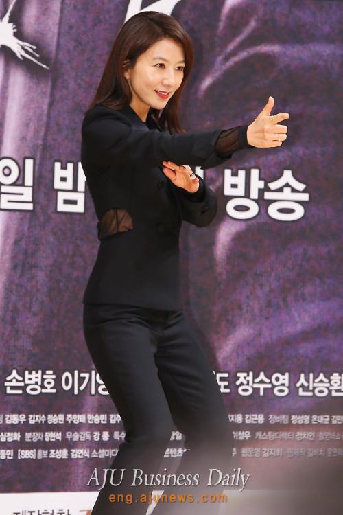 Actress Kim Hee-ae plays lead role in upcoming SBS detective series Mrs. Cop