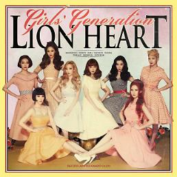 .Girls Generations new single Lion Heart tops 6 local music charts upon its release  .
