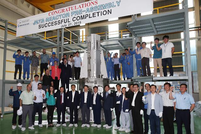 포스코플랜텍, 연구로 '원자로집합체' 첫 국산화 성공, 요르단 수출
